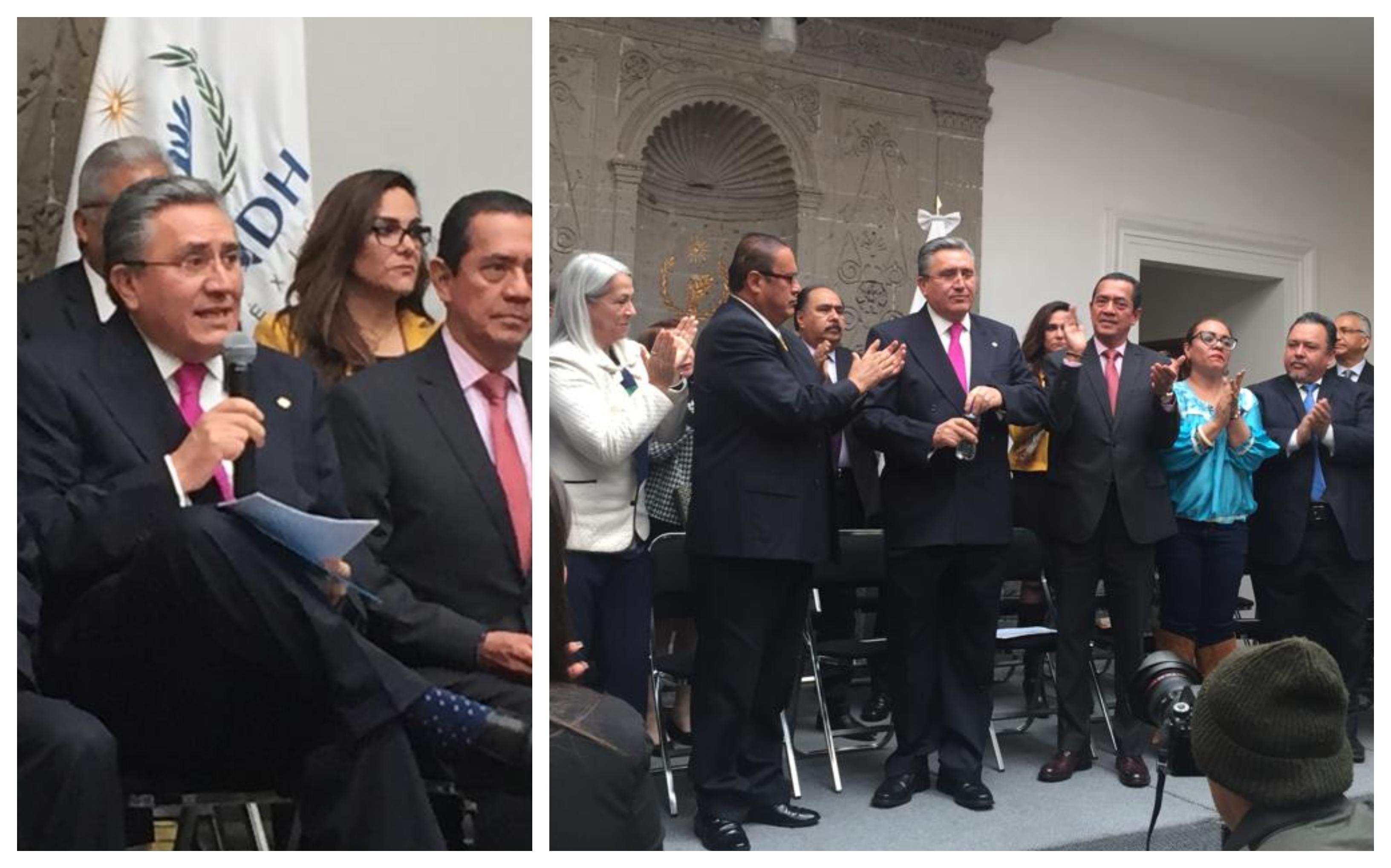 LUIS GONZÁLEZ PÉREZ NO BUSCARÁ REELECCIÓN FRENTE A LA CNDH