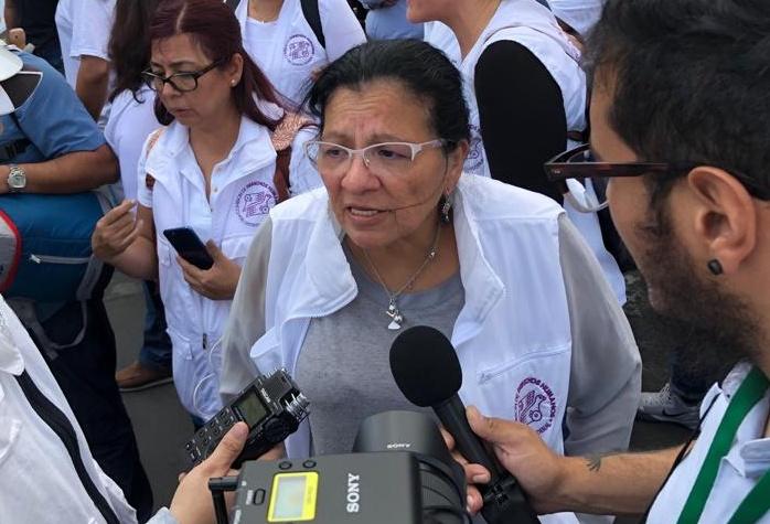 LESIONADOS CUATRO PARTICIPANTES DEL CINTURÓN DE LA PAZ