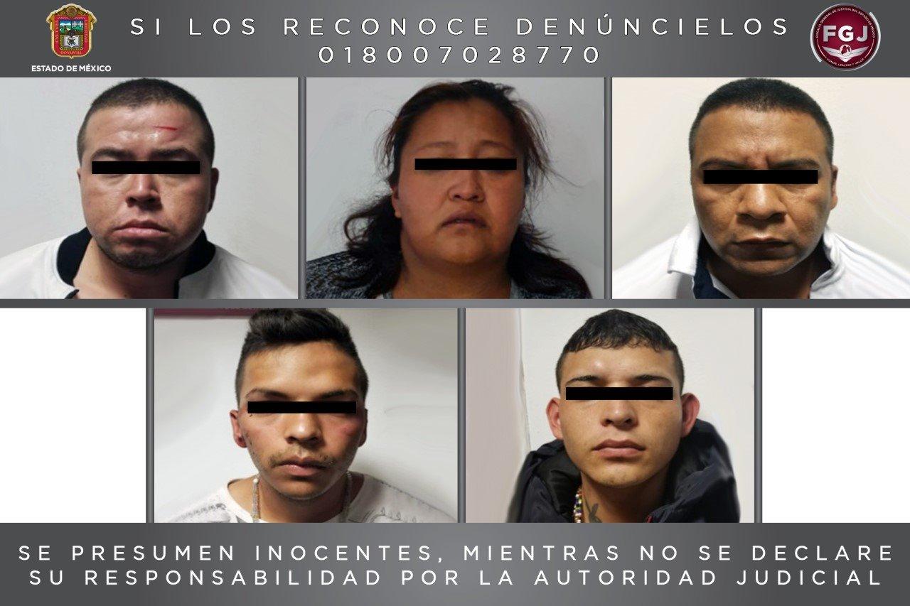 PROCESAN A CINCO POR EL HOMICIDIO DE UN HOMBRE EN ATIZAPÁN