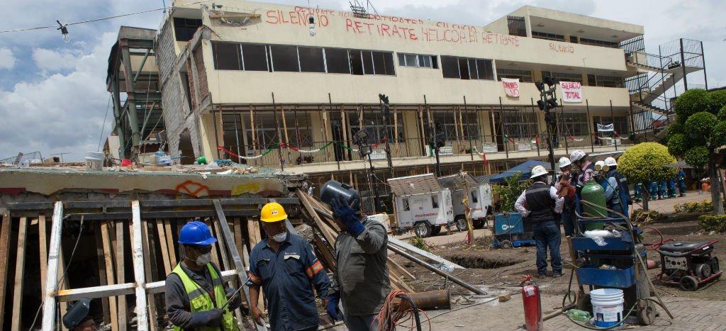PIDE CNDH SE INVESTIGUEN ACTOS DE CORRUPCIÓN EN LA CONSTRUCCIÓN DEL COLEGIO ENRIQUE REBSAMEN