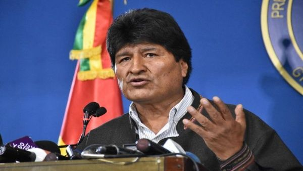 AVIÓN MILITAR MEXICANO VA POR EVO MORALES A BOLIVIA