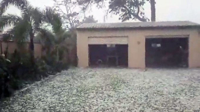 Video: Tormenta de granizos gigantes impacta Australia