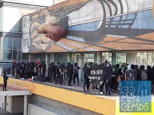 SE REGISTRAN NUEVOS ENFRENTAMIENTOS EN LA UNAM