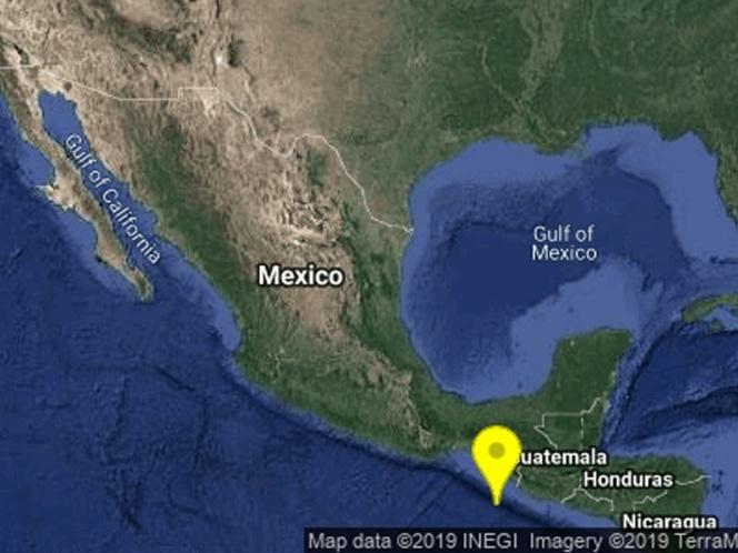 SISMO SACUDE FRONTERA DE CHIAPAS Y GUATEMALA