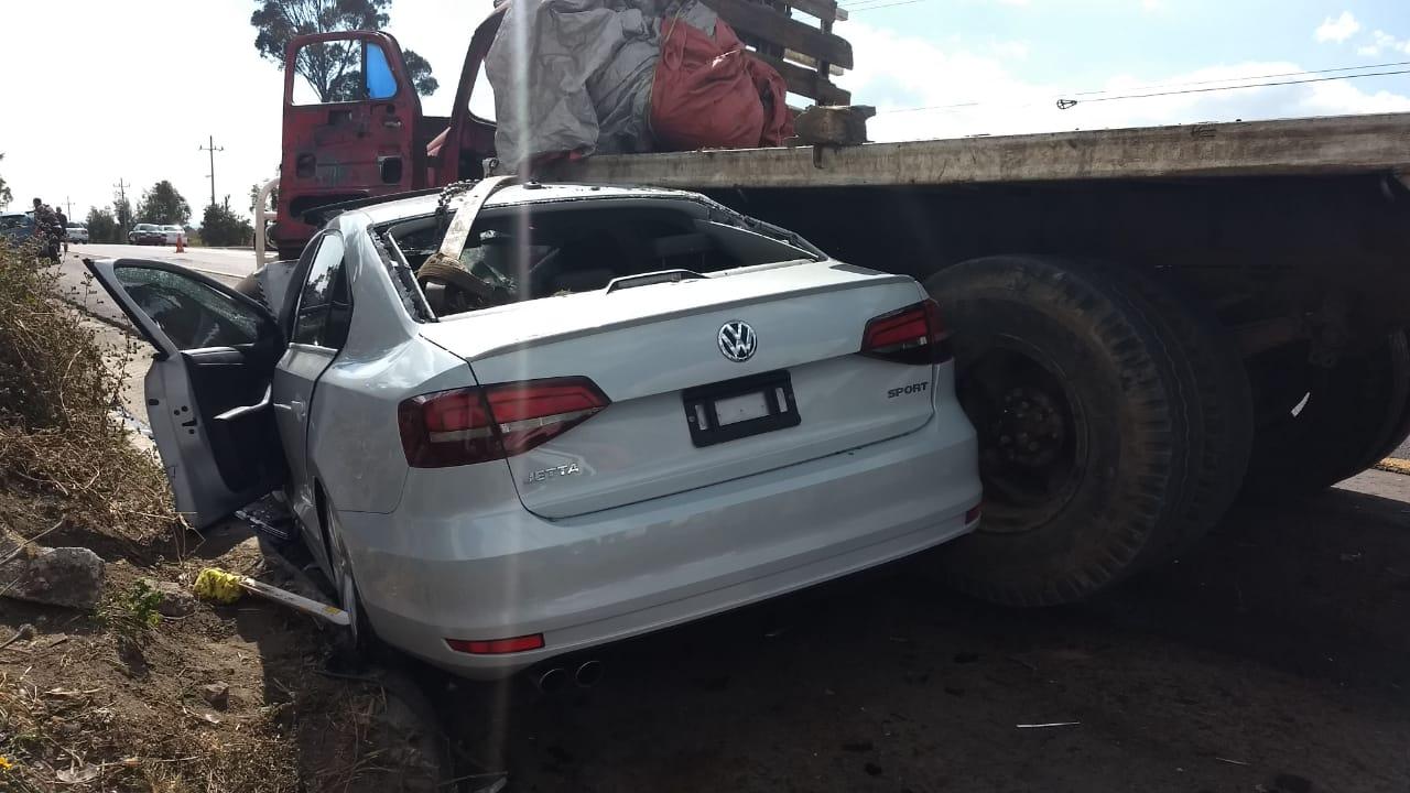 ACCIDENTE EN LA AUTOPISTA ATLACOMULCO – IXTLAHUACA DEJA TRES LESIONADOS