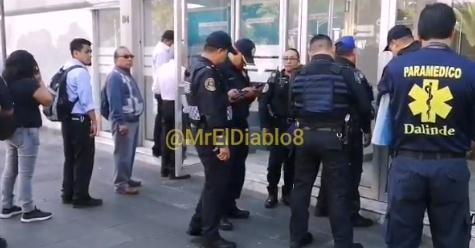 VIDEO: ASALTAN BANCO CON NOTA INTIMIDATORIA EN LA CDMX