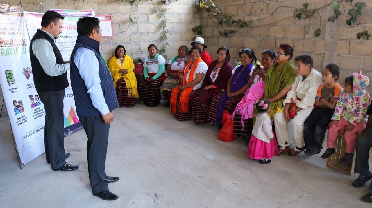 GARANTIZAN ASESORÍA Y REPRESENTACIÓN JURÍDICA A LOS MEXIQUENSES
