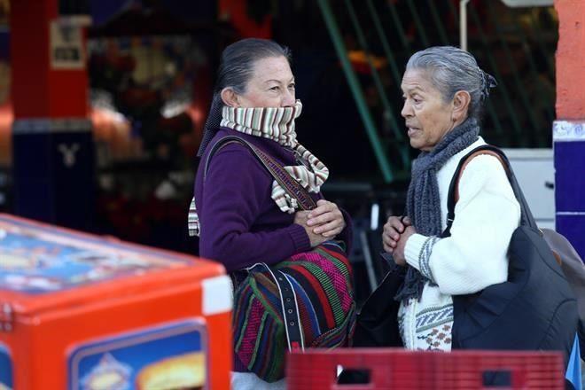 SERÁ UN AMANECER HELADO EN EL VALLE DE MÉXICO