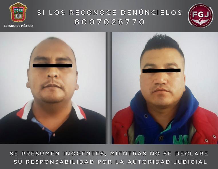 FGJEM APREHENDE A DOS POLICÍAS DE ECATEPEC POR HOMICIDIO CALIFICADO