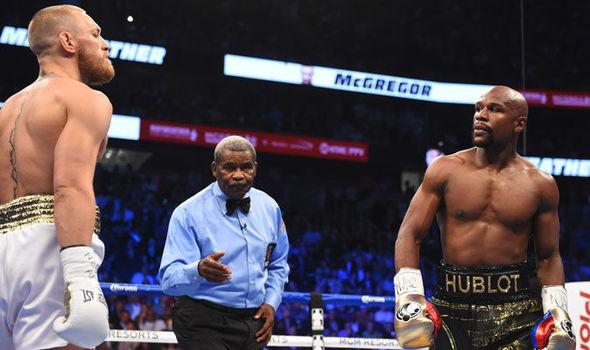 FLOYD MAYWEATHER DESAFÍA A MCGREGOR A UNA PELEA EN UFC