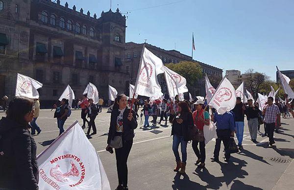 ANTORCHA CAMPESINA ANUNCIA MEGAMARCHA PARA ESTE MIÉRCOLES EN TOLUCA