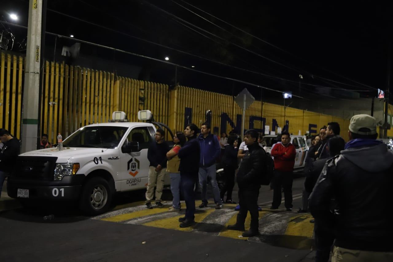 TRAS CONTINUAR CERRADA LA PREPA 9, AUTORIDADES DE LA UNAM DECLARARON QUE HABRÁ CLASES EXTRAMUROS