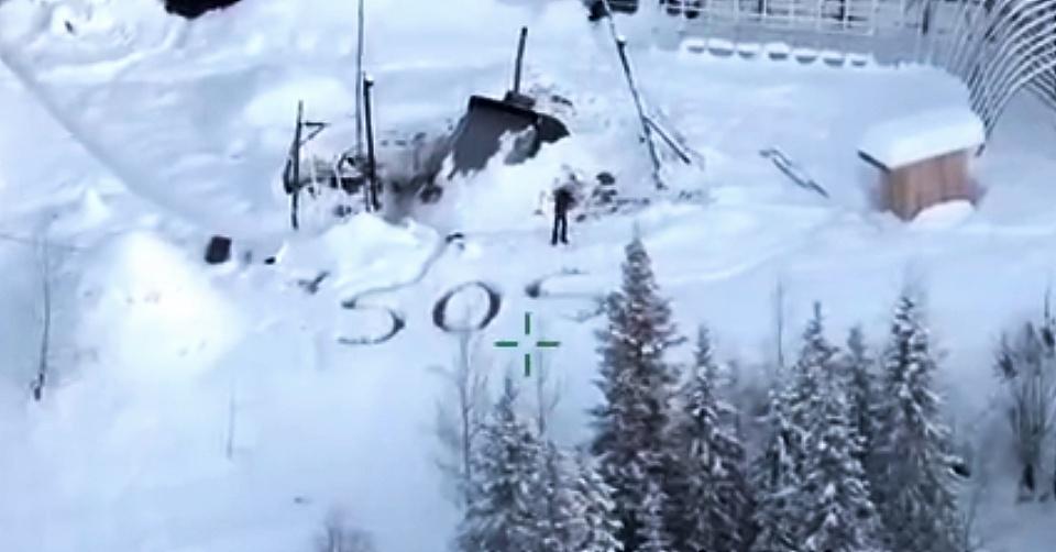VIDEO: LOGRAN RESCATAR A HOMBRE QUE SOBREVIVIÓ 23 DÍAS EN ALASKA