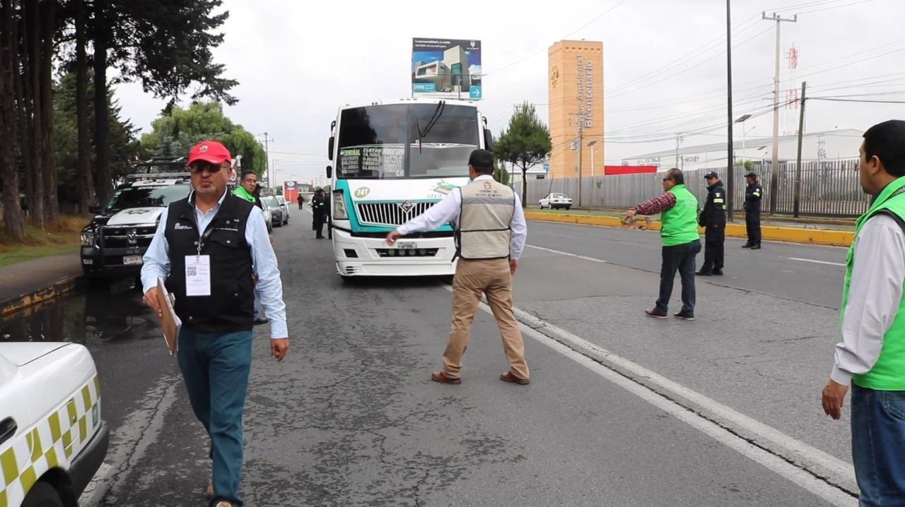 REFUERZA EDOMÉX OPERATIVOS CON PERSPECTIVA DE GÉNERO EN TRANSPORTE PÚBLICO