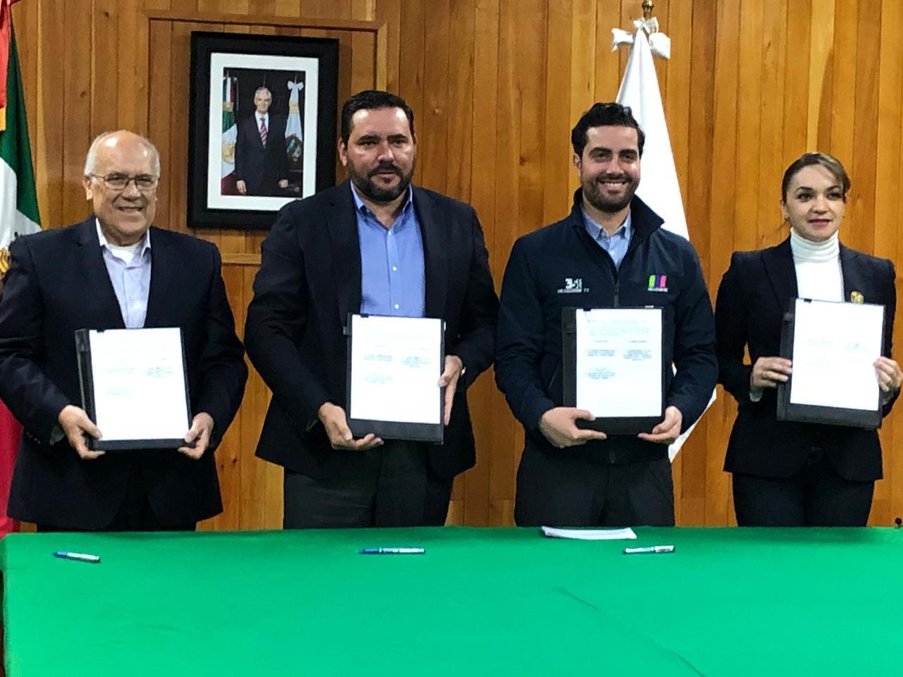 FIRMAN SEDUC Y TV MEXIQUENSE CONVENIO DE COLABORACIÓN PARA APLICAR MODELO DE EDUCACIÓN DUAL