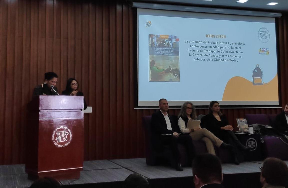 ADVIERTE CDHCM INCREMENTO DE TRABAJO INFANTIL EN LA CAPITAL