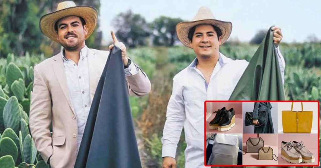 MEXICANOS CREAN PIEL ORGÁNICA A BASE DE NOPAL