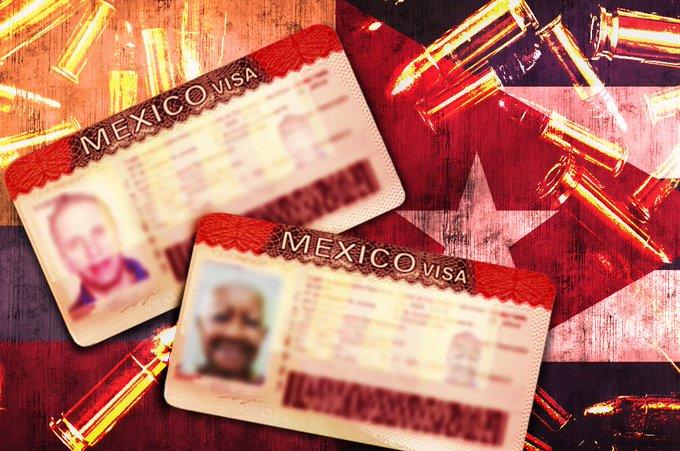 VISAS HUMANITARIAS A MÉXICO SE DISPARAN 107%