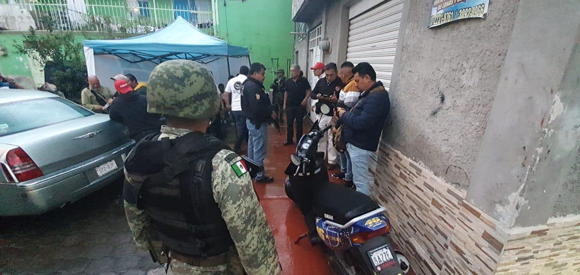 APREHENDEN A 57 PERSONAS EN OPERATIVO RASTRILLO REALIZADO EN IXTAPALUCA Y LA PAZ