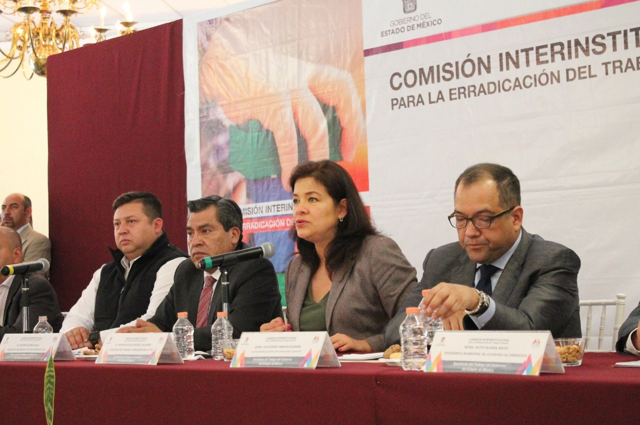 INTEGRAN COMITÉS MUNICIPALES PARA LA ERRADICACIÓN DEL TRABAJO INFANTIL EN EDOMÉX