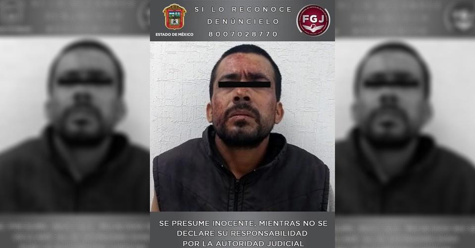 INVESTIGADO POR EL ASESINATO DE SU PAREJA SENTIMENTAL ES INGRESADO AL PENAL DE TEMASCALTEPEC