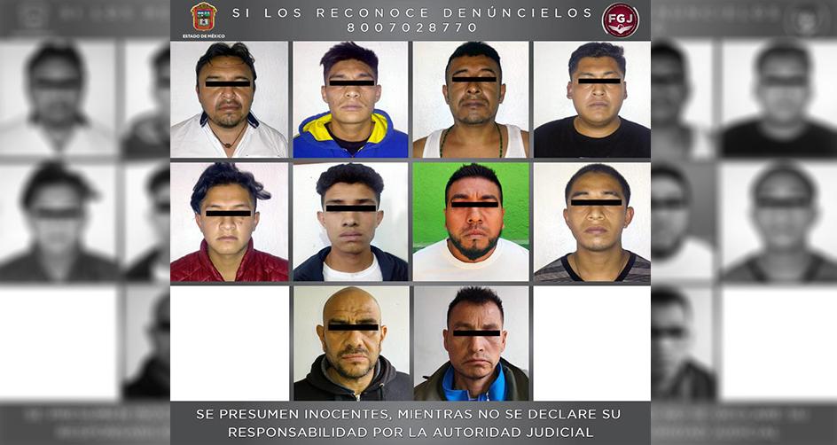 DETENIDOS 10 SUJETOS POR PRESUNTO HOMICIDIO EN LA PAZ
