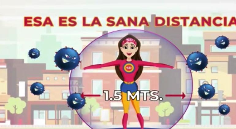 Inicia la campaña de Sana Distancia