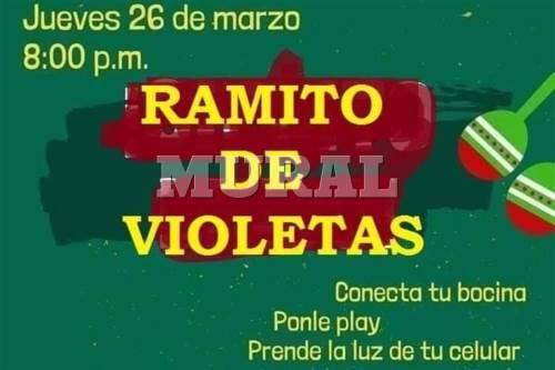 """POR AISLAMIENTO, CONVOCAN EN REDES A CANTAR """"RAMITO DE VIOLETAS"""""""