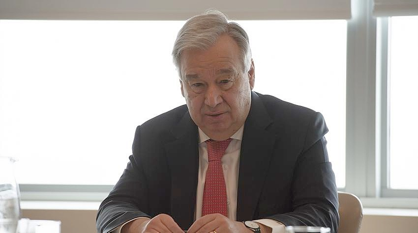 ONU LLAMA A UN CESE AL FUEGO GLOBAL PARA COMBATIR AL CORONAVIRUS