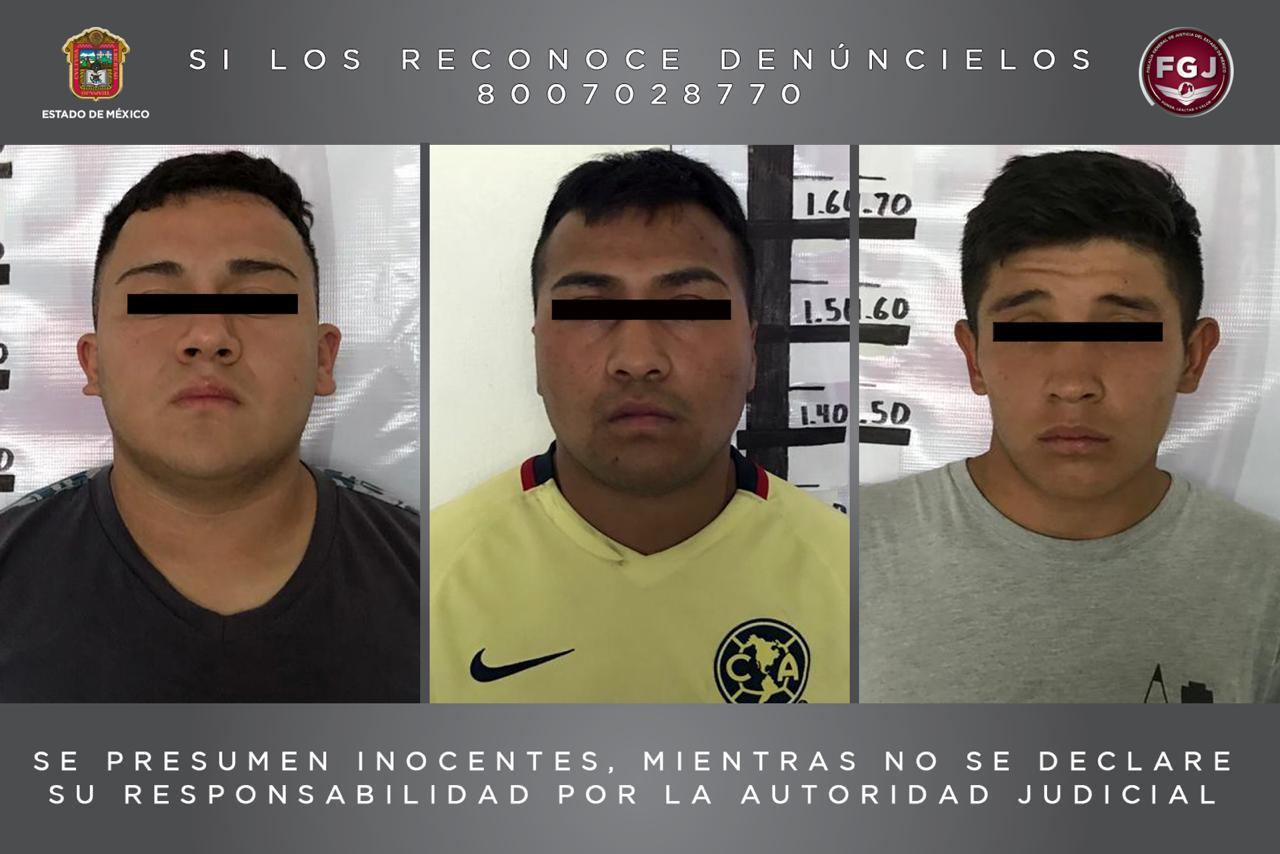 PROCESAN A TRES SUJETOS INVESTIGADOS POR EL DELITO DE ROBO CON VIOLENCIA