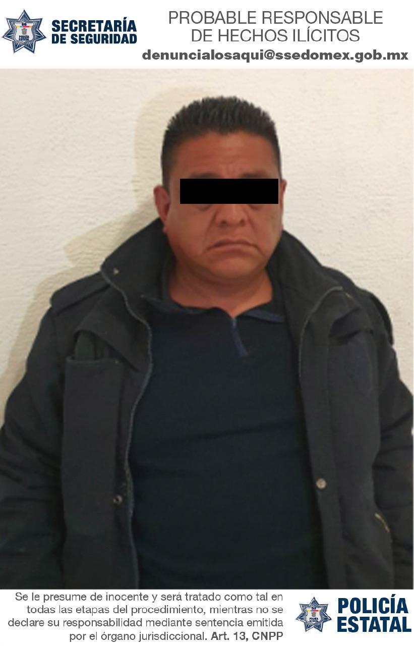 ELEMENTO DE LA POLICÍA ESTATAL ES DETENIDO POR SU PROBABLE RESPONSABILIDAD EN EL DELITO DE EXTORSIÓN