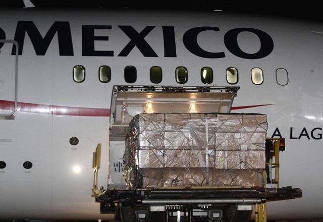 LLEGA A MÉXICO EL QUINTO AVIÓN CON INSUMOS MÉDICOS PROVENIENTE DE CHINA