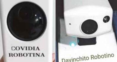 """COVIDIA ROBOTINA"" DA TERAPIA A PACIENTES DEL HOSPITAL 20 DE NOVIEMBRE"