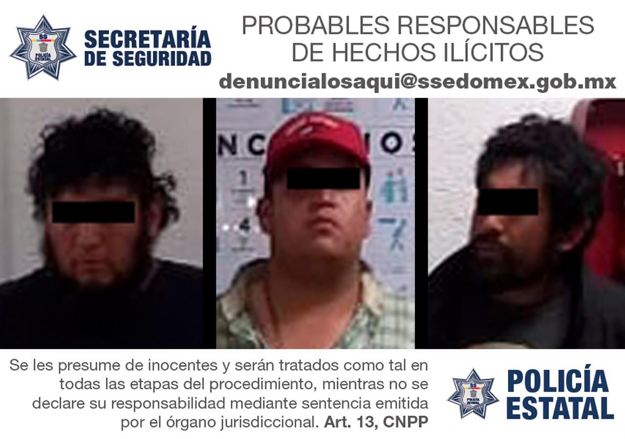 DETIENE SS A CUATRO SUJETOS POR SU PROBABLE PARTICIPACIÓN EN EL DELITO DE EXTORSIÓN