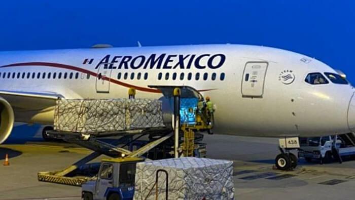 MÉXICO RECIBE EL TERCER CARGAMENTO CON INSUMOS PROVENIENTES DE CHINA