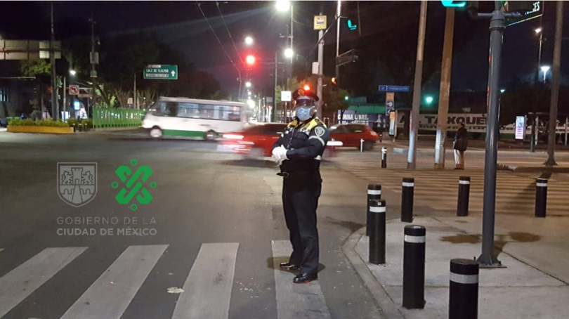 EN LA CDMX SUMAN 20 POLICÍAS CON COVID-19 Y 256 ESTÁN AISLADOS
