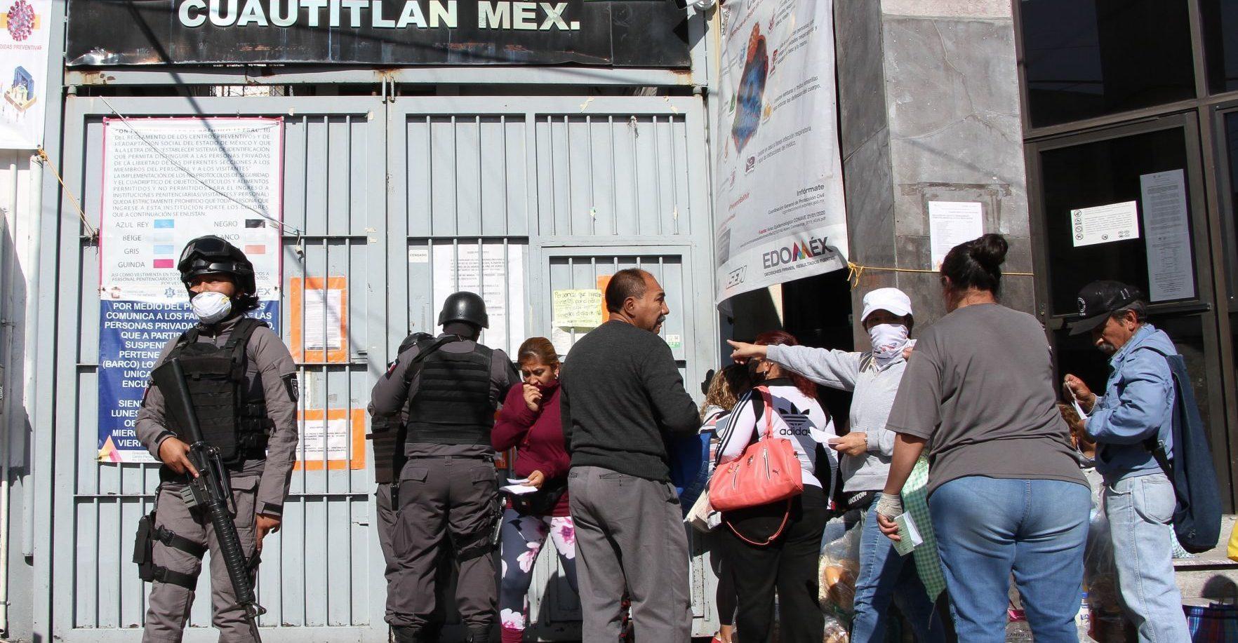 CNDH HACE RECOMENDACIONES AL PENAL DE CUAUTITLÁN TRAS HECHOS VIOLENTOS