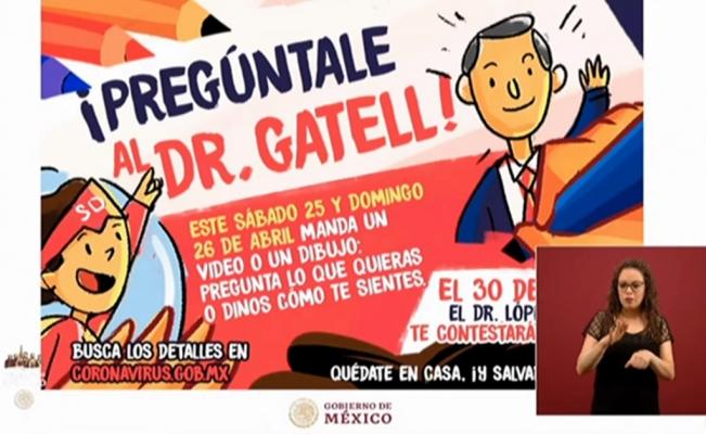 NIÑOS Y NIÑAS ES MOMENTO DE ¡PREGUNTARLE AL DR. GATELL!