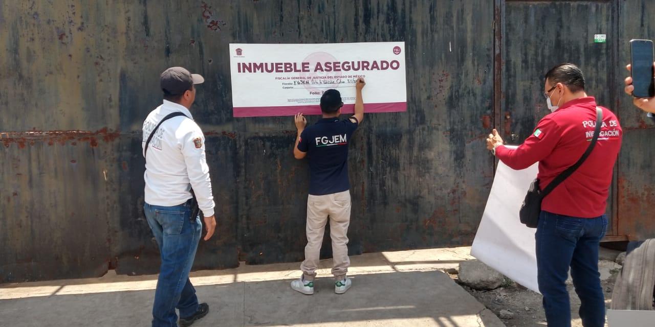 CATEA FGJEM INMUEBLE EN CUAUTITLÁN IZCALLI ASEGURÁN 4 TONELADAS DE AUTOPARTES