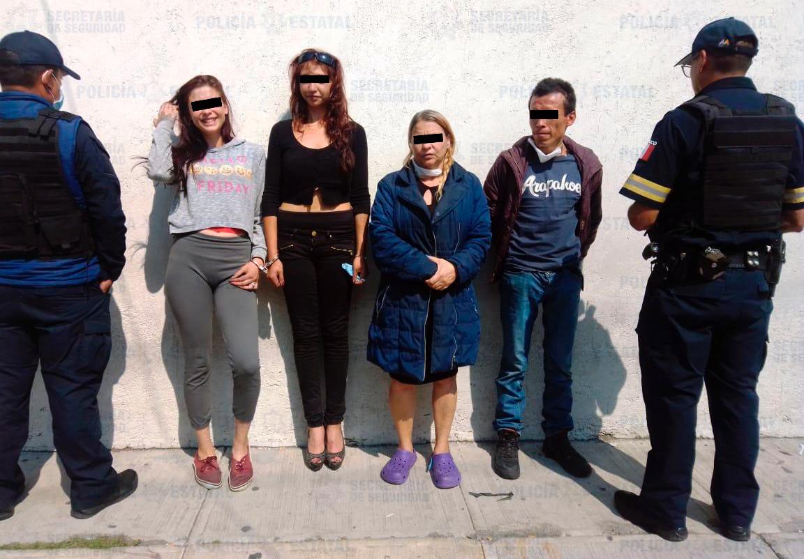 CUATRO DETENIDOS POR ROBO A CASA HABITACIÓN EN ALMOLOYA DE JUÁREZ