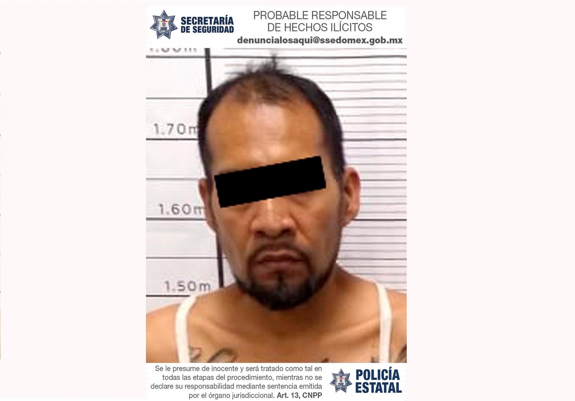 DETIENEN A PROBABLE RESPONSABLE DE ROBAR CON LUJO DE VIOLENCIA UN CAMIÓN REPARTIDOR