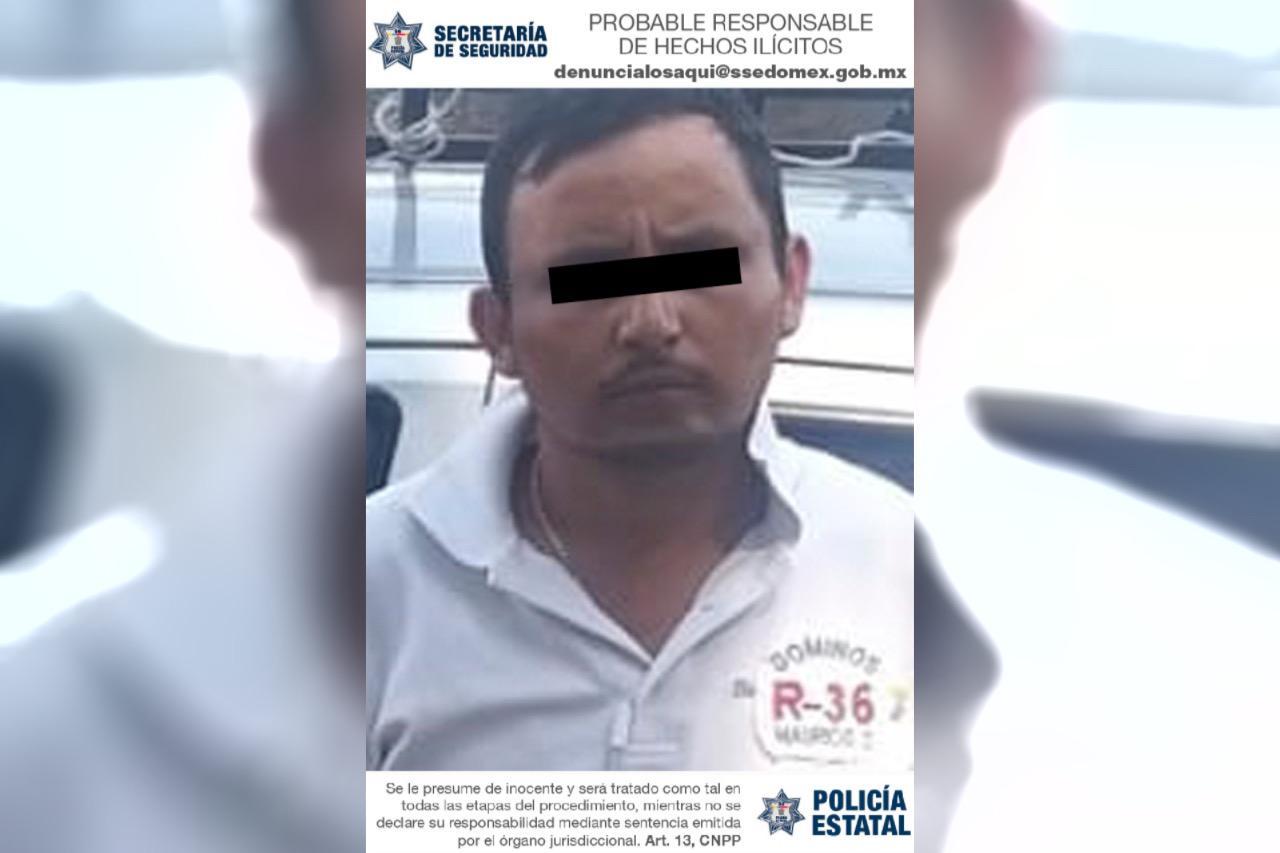 ELEMENTOS DE LA SECRETARÍA DE SEGURIDAD DETIENE A POSIBLE RESPONSABLE DEL DELITO DE ROBO CON VIOLENCIA
