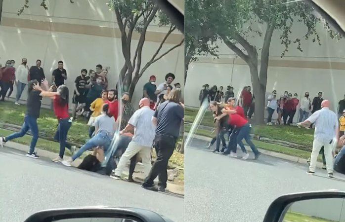 REAPERTURA DE TIENDAS EN TEXAS OCASIONA LARGAS FILAS Y HASTA GOLPES