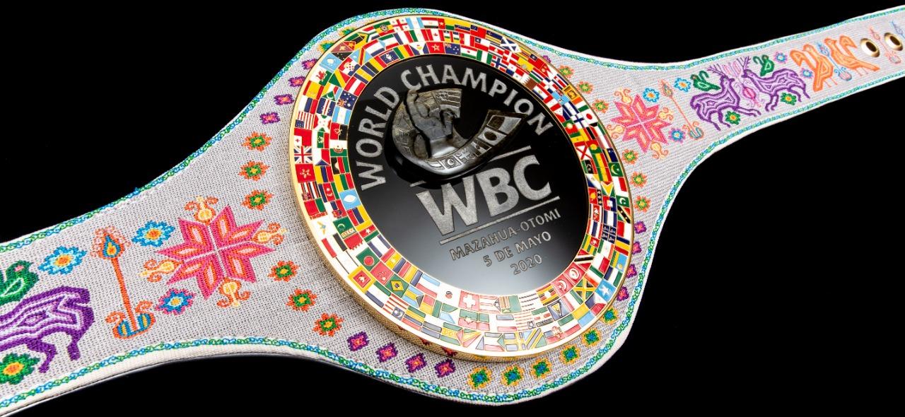 REALIZARON MANOS MEXIQUENSES EL CINTURÓN WBC MAZAHUA-OTOMÍ