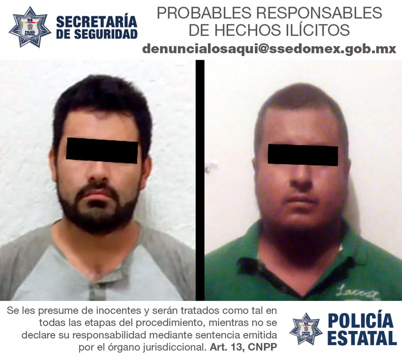CAEN SUJETOS TRAS ROBO CON VIOLENCIA A TRANSEÚNTE EN VILLA GUERRERO