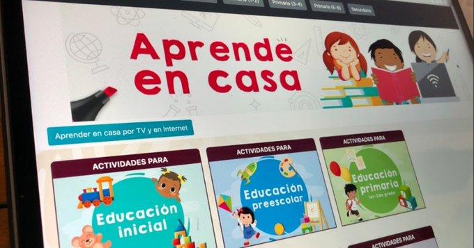 INTEGRA APRENDE EN CASA A 11 MILLONES DE ALUMNOS: SEP