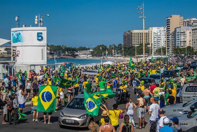 BRASIL SUPERA EL MEDIO MILLÓN DE CASOS DE COVID-19