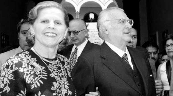 MUERE PALOMA CORDERO, VIUDA DEL EX PRESIDENTE MIGUEL DE LA MADRID.