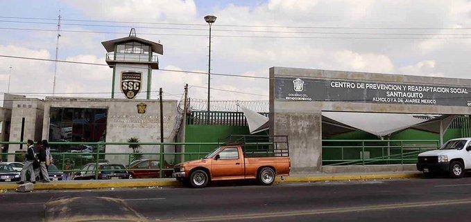 """AFIRMA SS QUE NO HAY BROTE DE COVID-19 EN EL PENAL DE """"SANTIAGUITO"""" EN EDOMÉX"""