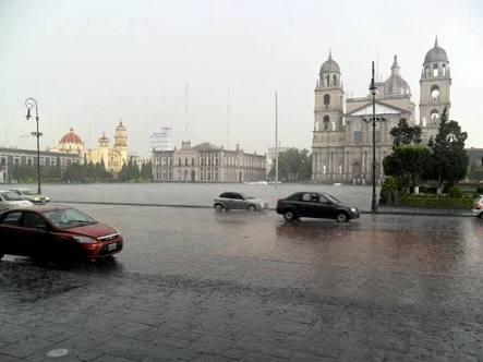 ESTE FIN DE SEMANA HAY PRONÓSTICO DE LLUVIAS EN EL VALLE DE MÉXICO